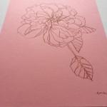 Ellen Williams Rose VII Wychwood Art side view