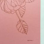 Ellen Williams Rose VII Wychwood Art signature
