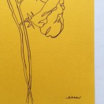 Ellen Williams Sweet Pea I Wychwood Art signature