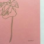 Ellen Williams Sweet Pea II Wychwood Art signature