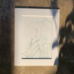 Francesca Henderson, Folded Nude 2, Wychwood Art, 5
