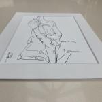 Francesca Henderson, Reclined Nude 2, Wychwood Art, 5