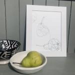 Henderson, Williams Pear 6, Wychwood Art, 6