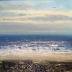 High Tide 80x80cm acrylic on canvas £1295