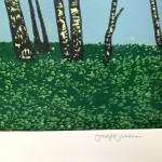 Jennifer Jokhoo Summer Birches signature strip