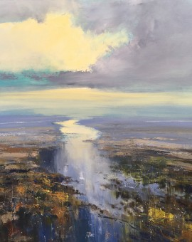Jonathan Trim Estuary Dawn Wychwood Art