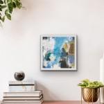 Kells Bay Falls in a room framed