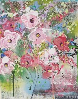 Les Jolies Fleurs Julia Adams Wychwood Art
