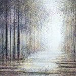 Marc Todd. Trees At Twilight, Original Contemporary Landscape Painting, Tree Paintings For Sale Online