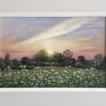 Marie Robinson_May Evening_Framed_Wychwood Art