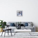 Marie Robinson_Signs of Spring_Framed insitu_Wychwood Art