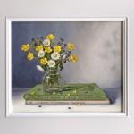 Marie Robinson_Wildflower Posy_Framed_Wychwood Art