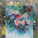 Mary Chaplin A taste of June in situ 5 Wychwood Art