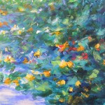Mary Chaplin Along the nasturtium path in Monet s garden in Giverny Wychwood Art(detail3) Wychwood Art