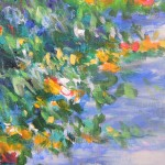Mary Chaplin Along the nasturtium path in Monet s garden in Giverny Wychwood Art(detail4)