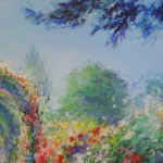 Mary Chaplin Along the nasturtium path in Monet s garden in Giverny (detail 2) Wychwood Art