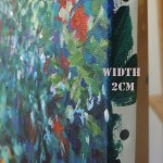 Mary Chaplin Along the nasturtium path in Monet s garden in Giverny (detail side) Wychwood Art