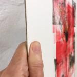 Mary Knowland Poppy 17 Wychwood Art Original Monoprint Side View