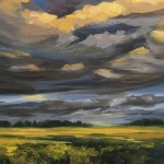 Suzanne Winn Evening Light Over The Wheatfield Detail II