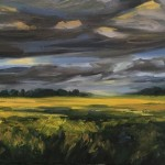Suzanne Winn Evening Light Over The Wheatfield Detail III