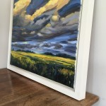 Suzanne Winn Evening Light Over The Wheatfield Side