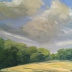 Suzanne Winn Late Summer IV Wychwood Art Original Landscape Painting