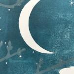Yule Emma Swift Kirkman close up of Moon