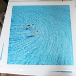 into the blue. gordon hunt. a few prints