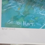 wild swim. Gordon Hunt. Limited edition print. signed1