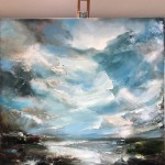 Asperous Shoreline (Easel View) Helen Howells