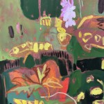 Elaine Kazimierczuk Wildflowers at Binevenagh detail 3