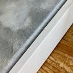 Gemma Bedford, Woodland Mist, Contemporary Art edge frame