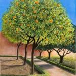 Jane Peart The Orange Trees Wychwood Art