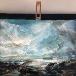 Light Across The Estuary (Easel View) Helen Howells