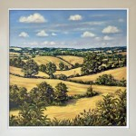 MARIE ROBINSON August Fields_Framed_Wychwood Art