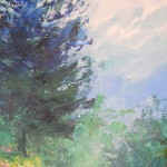 Mary Chaplin summer promenade in Giverny detail3 Wychwood Art