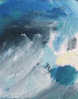 Mary Scott, Cornish Blue, Wychwood Art,