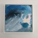 Mary Scott, Cornish Blue, Wychwood Art, hung