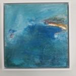 Mary Scott, Finding Gwythian, Wychwood Art, hung