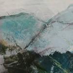 Mary Scott, Long Day On The Tarrens, Wychwood Art, detail 1