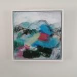 Mary Scott, Long Day On The Tarrens, Wychwood Art, hung