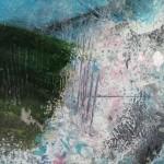 Mary Scott, Long Day On The Tarrens, Wychwood Art, sign