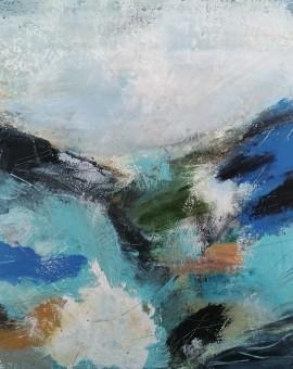 Mary Scott, Nearing Zennor, Wychwood Art
