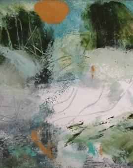 Mary Scott, Spring Finally Came, Wychwood Art