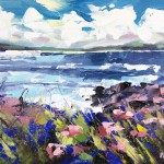 Rachel-Painter—Hush-Of-The-Sea-III—Godrevy-Beach-Cornwall—Cornish-Artist- Wychwood Art