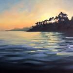 Rachel-Painter—Paved-In-Light-II—-Helford-River-Durgan-Cornwall-Landscape- Wychwood Art