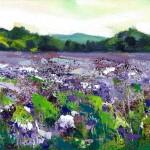 Rachel-Painter—Purple-Fields—Cornwall-Art – Wychwood Art