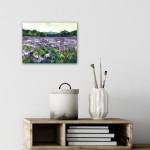 Rachel-Painter—Purple-Fields—Cornwall—insitu