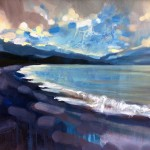 Rachel-Painter—The-Dawn-From-Upon-High—Exmoor—Seascape-Painting- Wychwood Art