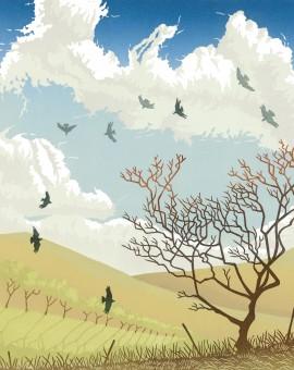 Steve Manning-Caught on the Breeze-Wychwood Art (2)